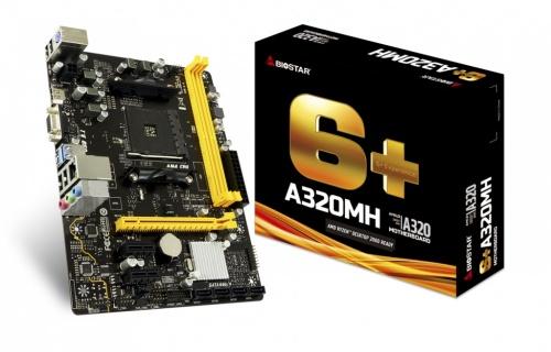 Tarjeta Madre Biostar A320MH, S-AM4, AMD A320, HDMI, 32GB DDR4 para AMD