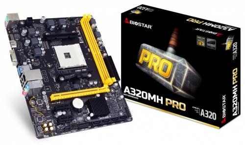 Tarjeta Madre Biostar micro ATX A320MH PRO, S-AM4, AMD A320, HDMI, 32GB DDR4, AMD