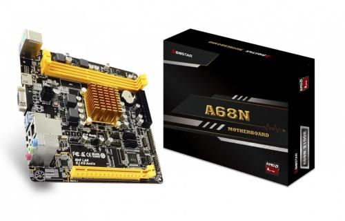 Tarjeta Madre Biostar ATX A68N-2100E, S-AM3, AMD E1-2150 1.05GHz, HDMI, 16GB DDR3 para AMD