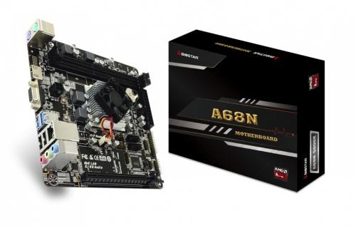 Tarjeta Madre Biostar Mini ITX A68N-5600E, S-AM4, AMD A4-3350B 2GHz, HDMI, 16GB DDR3 para AMD