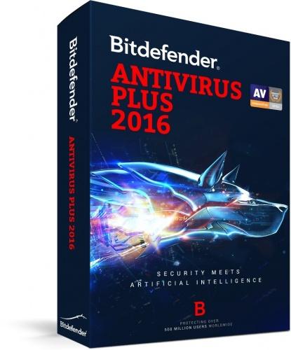 Bitdefender Antivirus Plus 2016, 5 PCs, 2 Años, Windows