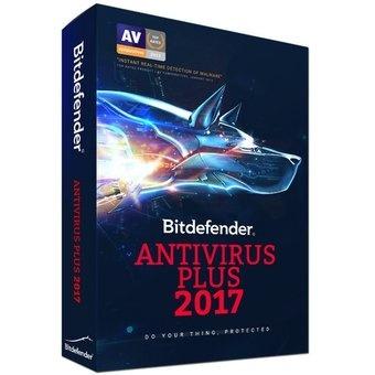 Bitdefender Antivirus Plus 2017, 1 Licencia, 2 Años, Windows/Mac/Android/iOS