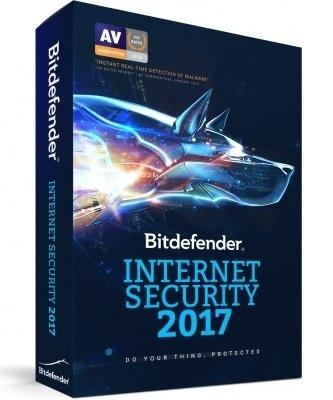 Bitdefender Internet Security 2017, 1 Usuario, 2 Años, Windows/Mac/Android/iOS