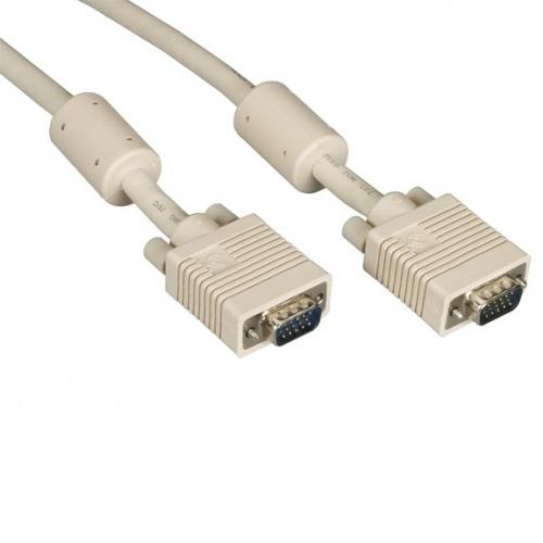 Black Box Cable VGA (D-Sub) Macho - VGA (D-Sub) Macho, 1.5 Metros, Beige