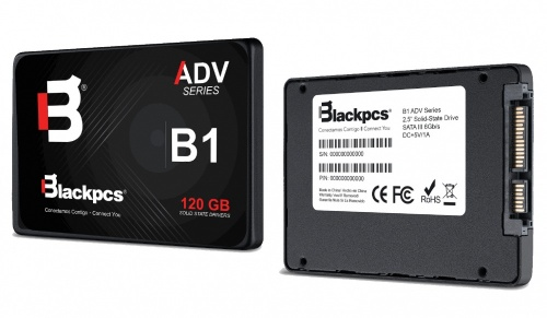 "SSD Blackpcs AS2O1, 120GB, SATA III, 2.5"", 7mm"
