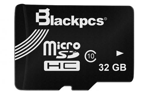 Memoria Flash Blackpcs MM10101-32, 32GB MicroSD Clase 10