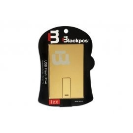 Memoria USB Blackpcs MU2105, 32GB, USB 2.0, Oro