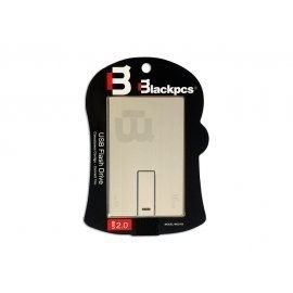 Memoria USB Blackpcs MU2105, 32gb, USB 2.0, Plata