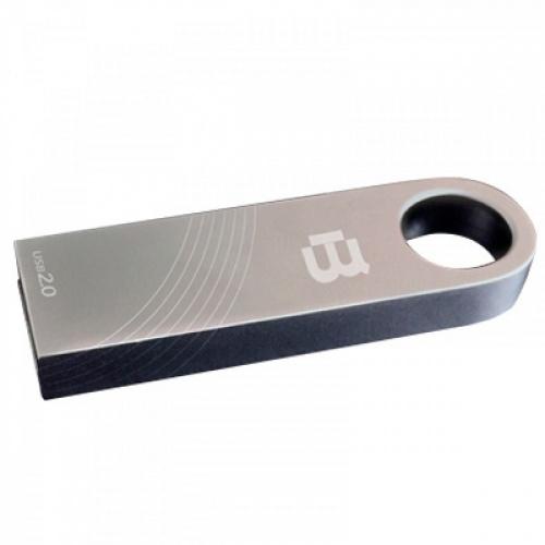 Memoria USB Blackpcs MU2106, 64GB, USB 2.0, Plata