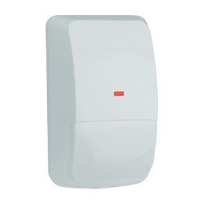 Bosch Sensor de Movimiento PIR de Montaje en Pared DS778, Alámbrico, 60 Metros, Blanco