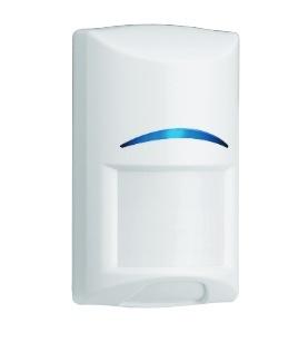 Bosch Sensor de Movimiento PIR de Montaje en Pared ISC-BPR2-W12, Alámbrico, Anti-Pet, 12 Metros, Blanco