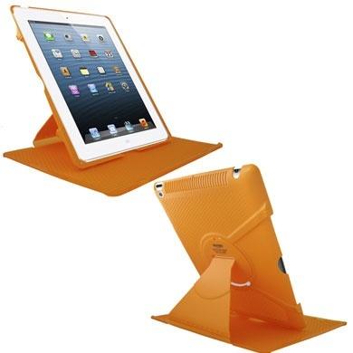 BRobotix Funda de ABS para iPad 2, Naranja