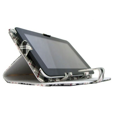 BRobotix Funda de Vinipiel 070317, para Tablet 7