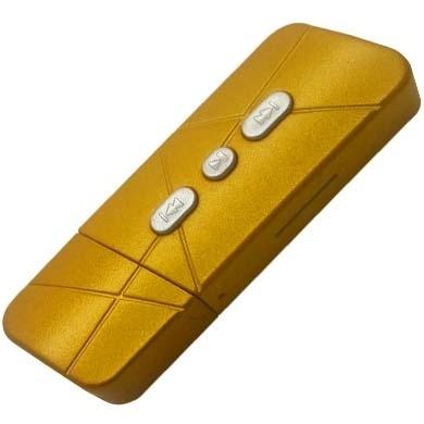 BRobotix Lector MicroSD y Reproductor MP3, Amarillo