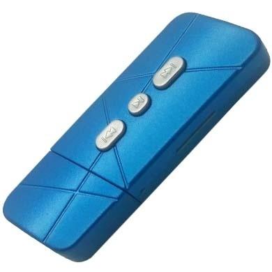BRobotix Lector MicroSD y Reproductor MP3, Azul