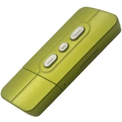 BRobotix Lector MicroSD y Reproductor MP3, Verde