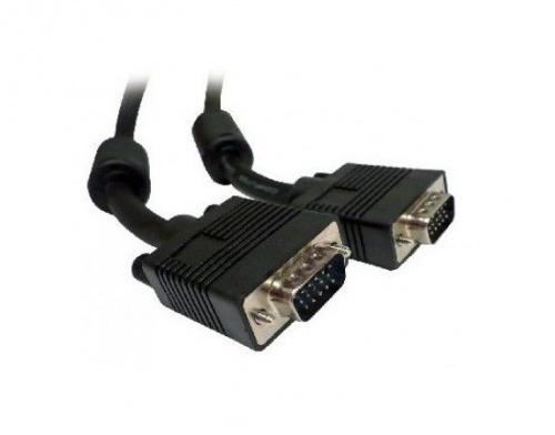 BRobotix Cable VGA Macho - VGA Macho, 10.5 Metros, Negro