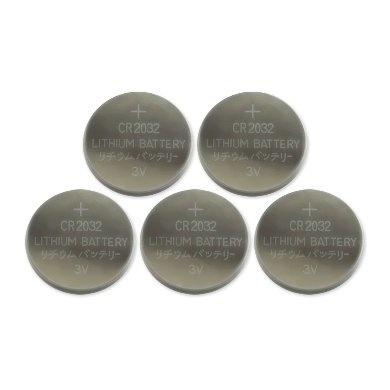 BRobotix Batería CMOS CR2032, 5 Piezas, para Bios