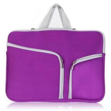 BRobotix Funda de Neopreno 457896P para Laptop 15.4'', Púrpura