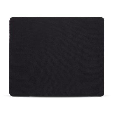 Mousepad BRobotix 497271, 24 x 20cm, Grosor 1mm, Negro