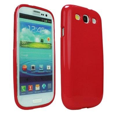 BRobotix Funda 611930 para Samsung Galaxy S3, Rojo