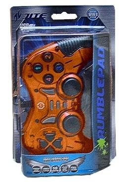 BRobotix Control para Juegos RumblePad, Alámbrico, USB 2.0, Cobre
