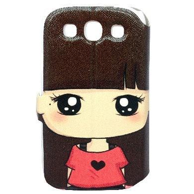 BRobotix Funda 806888H para Samsung Galaxy S 3, Candy Corazón