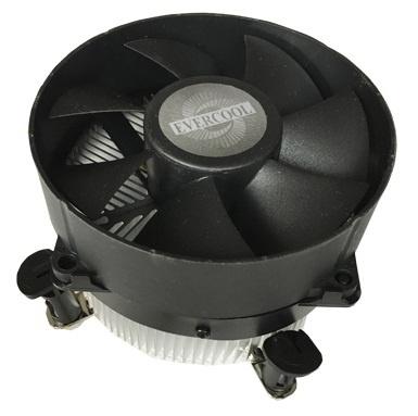 Disipador CPU BRobotix 952539, 2600RPM, Negro