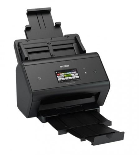 Scanner Brother ADS3600W, 600 x 600DPI, Escáner Color, USB, Negro