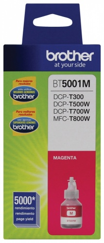 Tanque de Tinta Brother BT5001M Magenta, 5000 Páginas