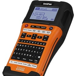 Brother Rotulador P-touch EDGE PT-E500, Transferencia Térmica, 180 x 180 DPI, Negro/Naranja