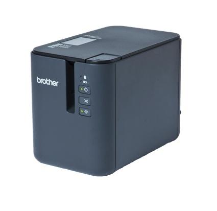 Brother PT-P950NW, Impresora de Etiquetas, Transferencia Térmica, 360 x 360 DPI, Bluetooth, Negro