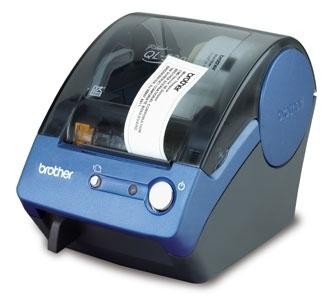 Brother QL-500, Impresora de Etiquetas, Térmica Directa, 90mm/s, USB, Azul