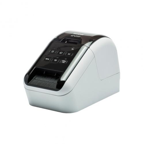 Brother QL-810W, Impresora de Etiquetas, Térmica Directa, USB, 300 x 600DPI, Negro/Blanco