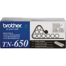 Tóner Brother TN-650 Negro, 8000 Páginas