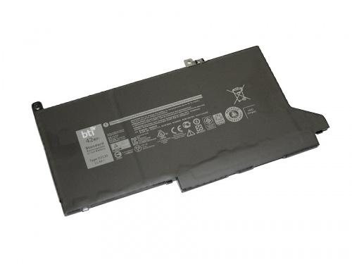 Batería BTI DJ1J0-BTI Compatible, Li-Ion, 3 Celdas, 11.4V, 3500mAh, para Dell