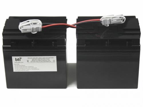 BTI Batería de Reemplazo para No Break RBC55-SLA55-BTI, 12V, 18Ah