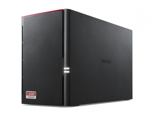 Buffalo LinkStation 520DN NAS de 2 Bahias, 8TB (2 x 4TB), Realtek RTD1195N 1GHz, USB 3.0, Negro ― Incluye Discos