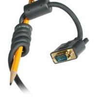 C2G Cable CL3 VGA Macho - VGA Macho, 3.6 Metros, Negro