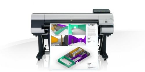 Plotter Canon iPF830 44'', Color, Inyección, Print