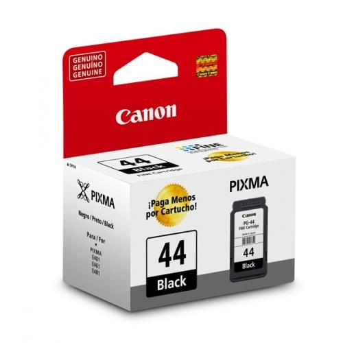 Cartucho Canon PG-44 Negro, 100 Páginas