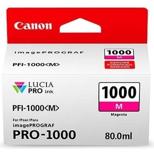 Cartucho Canon PFI-1000 Magenta, 80ml