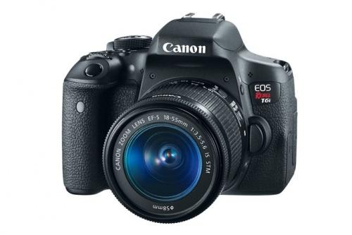 Cámara Refléx Canon EOS Rebel T6i, 24.2MP, Cuerpo + Lente 18-55mm
