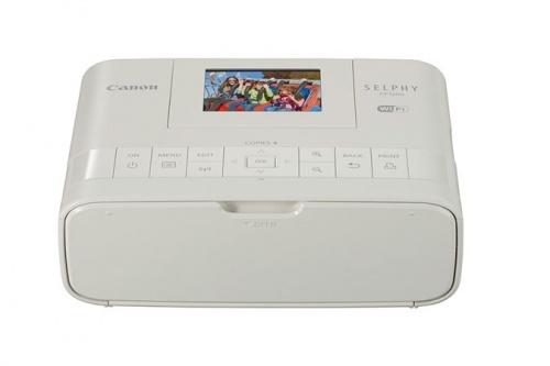Impresora Fotográfica Canon Selphy CP1200, Inyección, 300 x 300DPI, Inalámbrico, Blanco