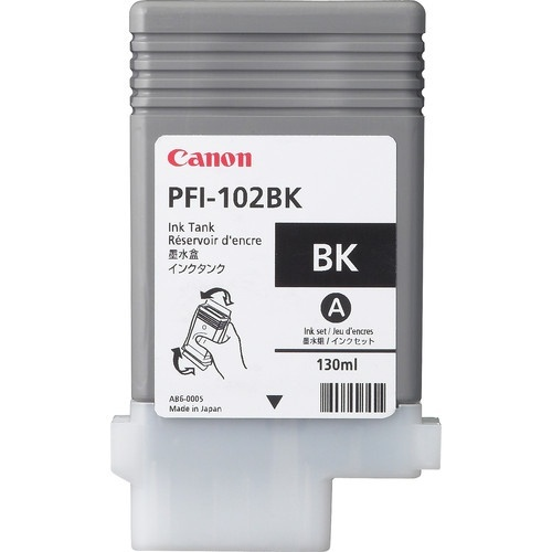 Tanque de Tinta Canon PFI-102 Negro 130ml