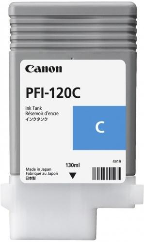Cartucho Canon PFI-120 Cyan, 130ml