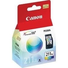Cartucho Canon CL-211 XL Tricolor, 360 Páginas 13ml