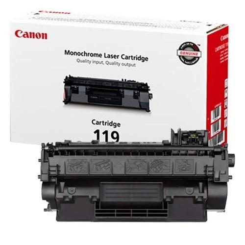 Tóner Canon 119 Alto Rendimiento Negro, 6400 Páginas