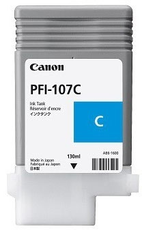Tanque de Tinta Canon PFI-107C Cyan 130ml