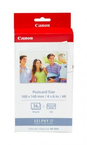 Canon Kit Cartucho y Papel KP-36IP para 36 Hojas de 4x6''